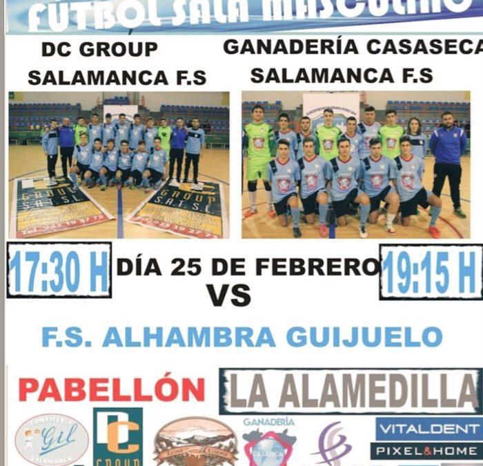 Derbi Este Sábado vs Alhambra de Guijuelo