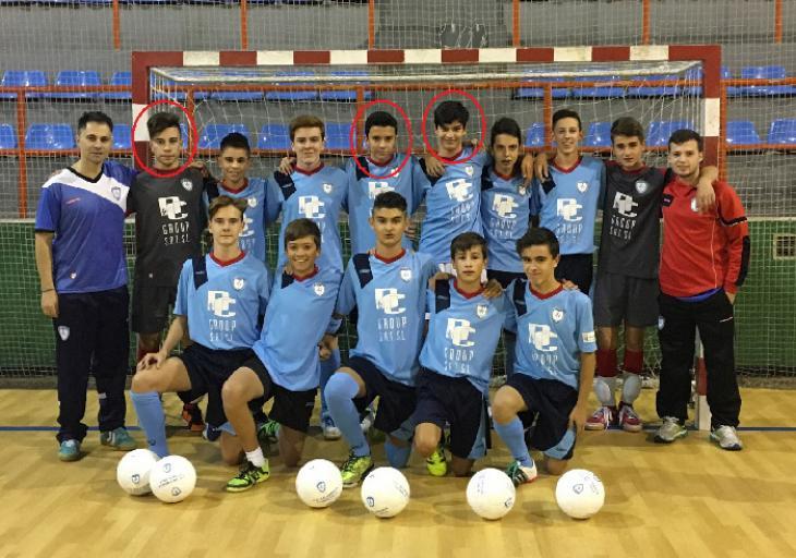 Adrián, Jesús y Víctor convocados con la Sub16 de Castilla y León