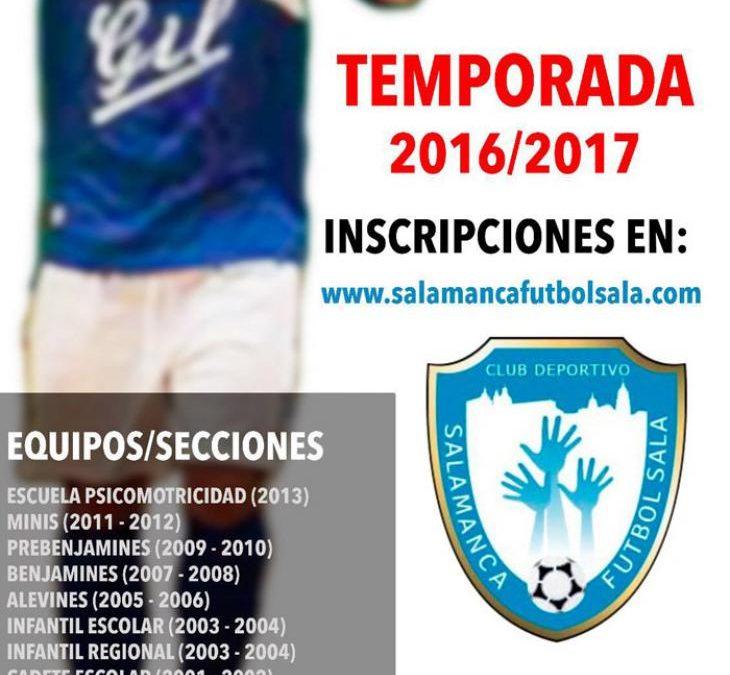 Plazas libres, Club Deportivo Salamanca