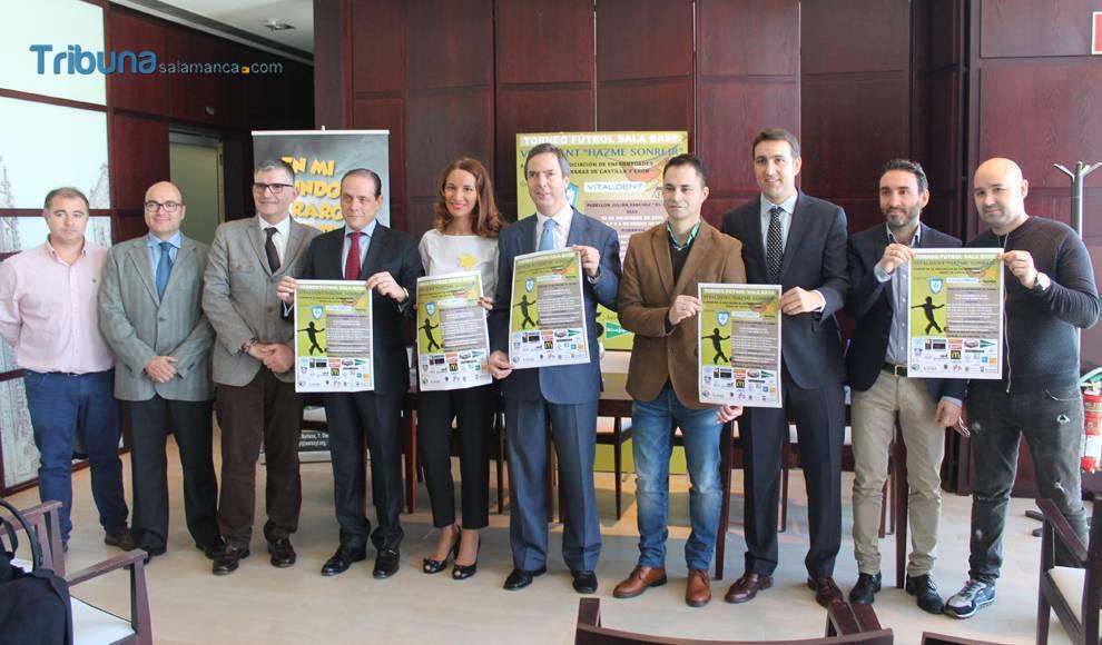 Presentación del Torneo Vitaldent «Hazme Sonreír»