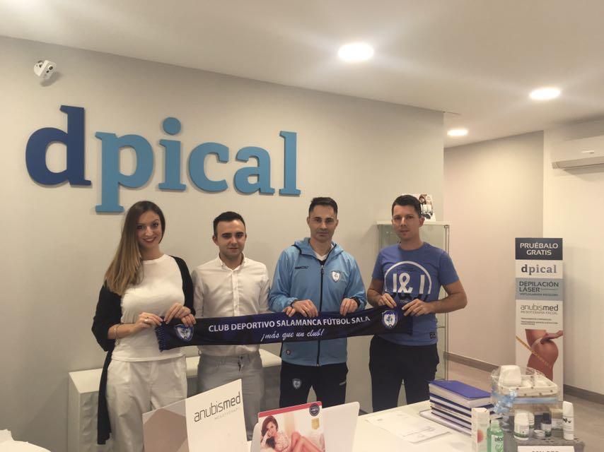Dpical, nuevo colaborador del CD Salamanca Futbol Sala