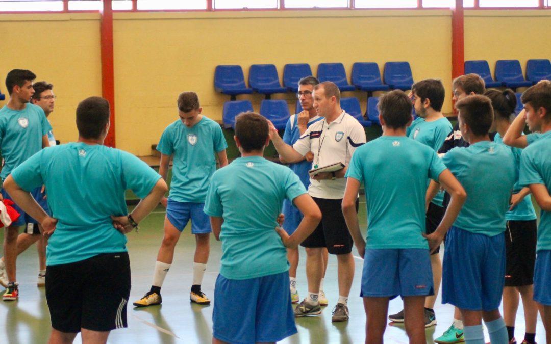 El equipo de División de honor juvenil y el cadete del FS Salamanca comienzan su pretemporada