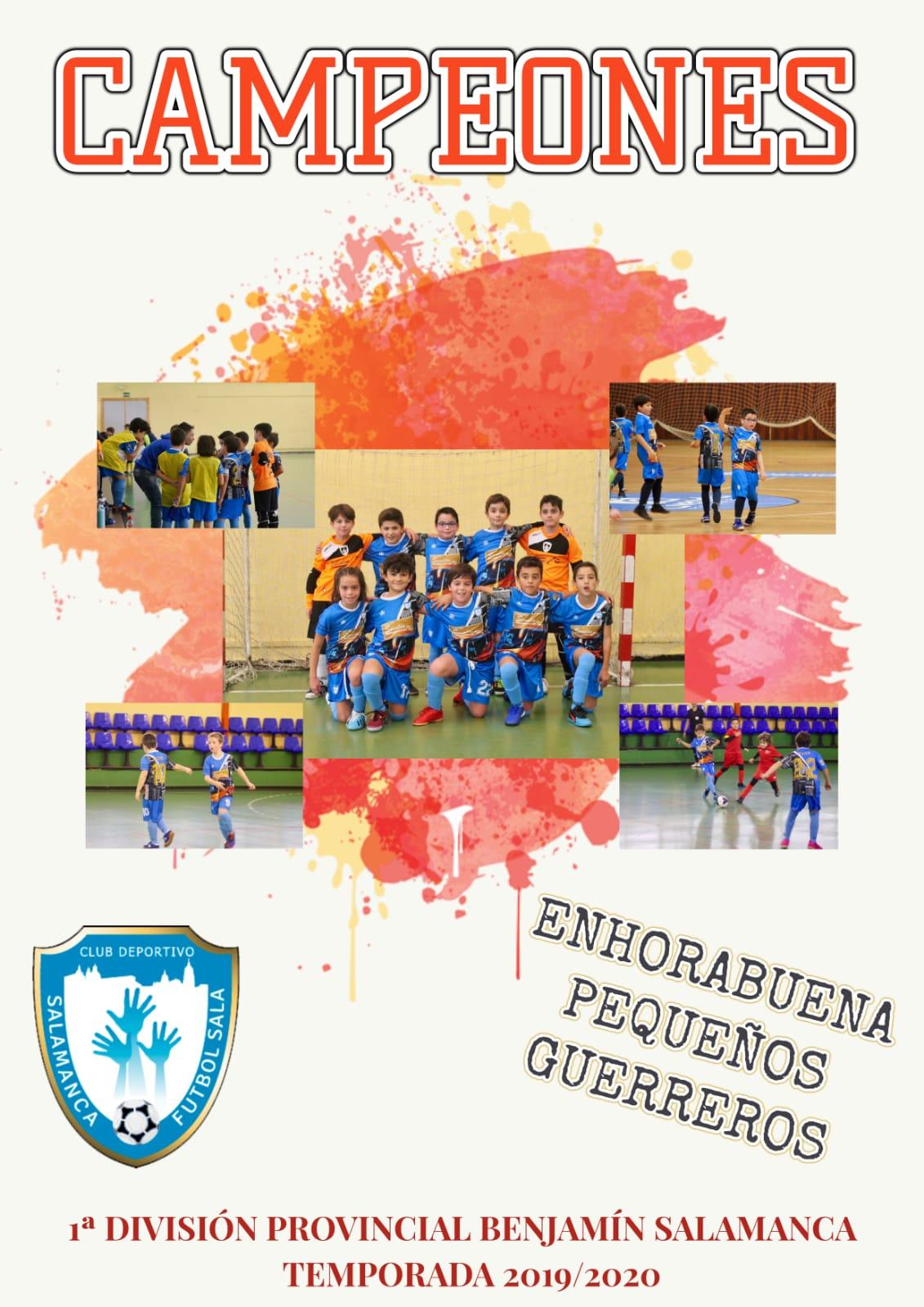 campeones primera division provincial benjamin salamanca