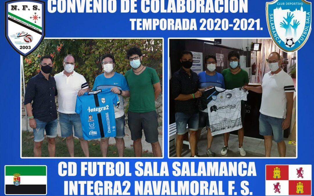 Convenio NAVALMORAL F.S. Y F.S. SALAMANCA.